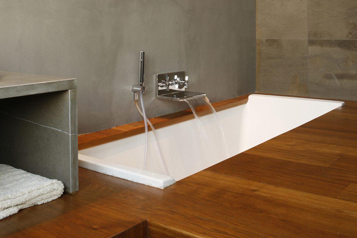 Loftcube: Fabio Fantolino desarrolla un conceptoresidencial moderno y versátil que combina a la perfección con la colección de baño Waterblade de Ritmonio