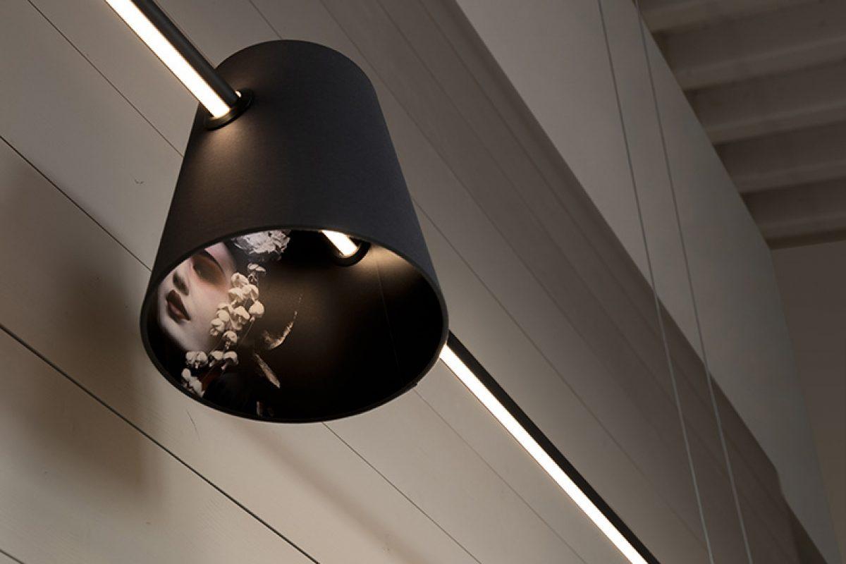 Cupido de Matteo Ugolini para Karman, la flecha iluminada entre decoración y minimalismo