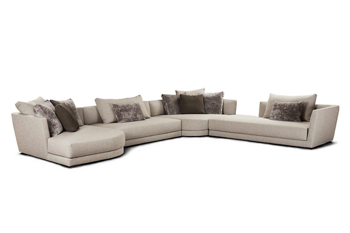 Lyndon de Alberto Lievore para Verzelloni: Un sofá debe ser cómodo pero también debe poder transformarse