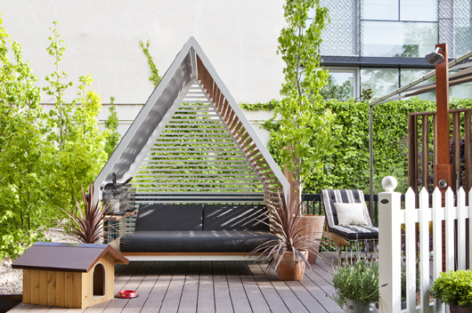 terrazas para el verano diseadas por encarna romero para el corte ingls en casa decor madrid