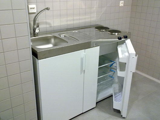 Las mini cocinas de limatec en el aeropuerto de santiago - Muebles de cocina santiago de compostela ...