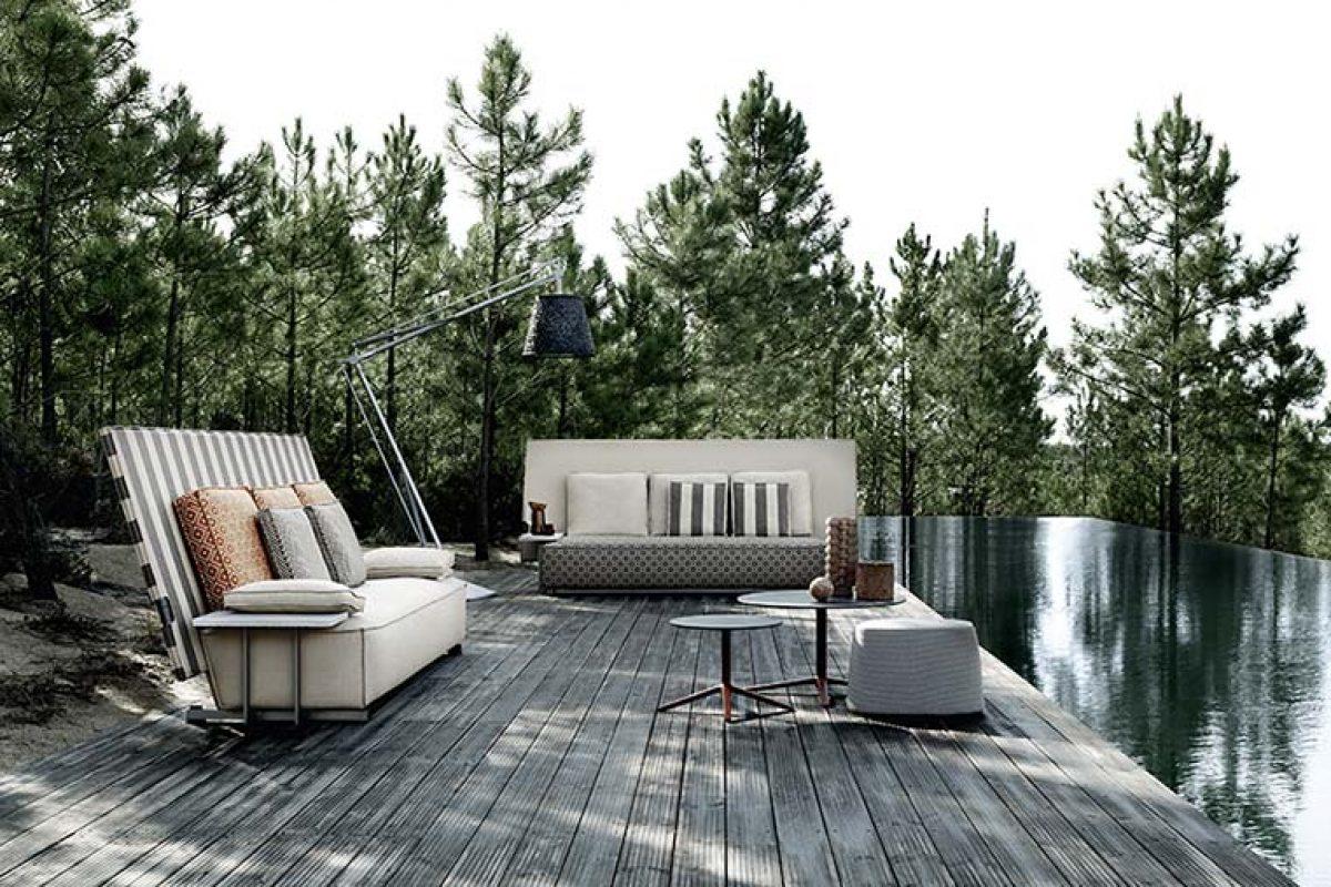 Oh, it rains! la nueva colección de exterior que se protege, diseñada por Philippe Starck para B&B Italia