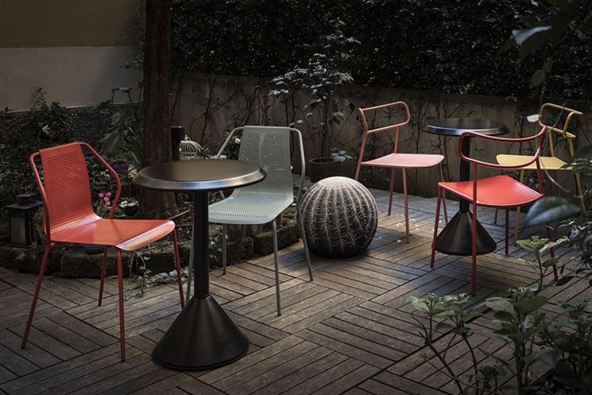 Donna y Paloma, las nuevas sillas de exterior de Baleri Italia