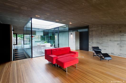 luz natural y transparencias con technal proyecto de. Black Bedroom Furniture Sets. Home Design Ideas