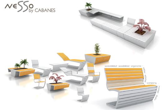 Cabanes presenta la innovadora serie nesso de mobiliario for Arquitectura ergonomica