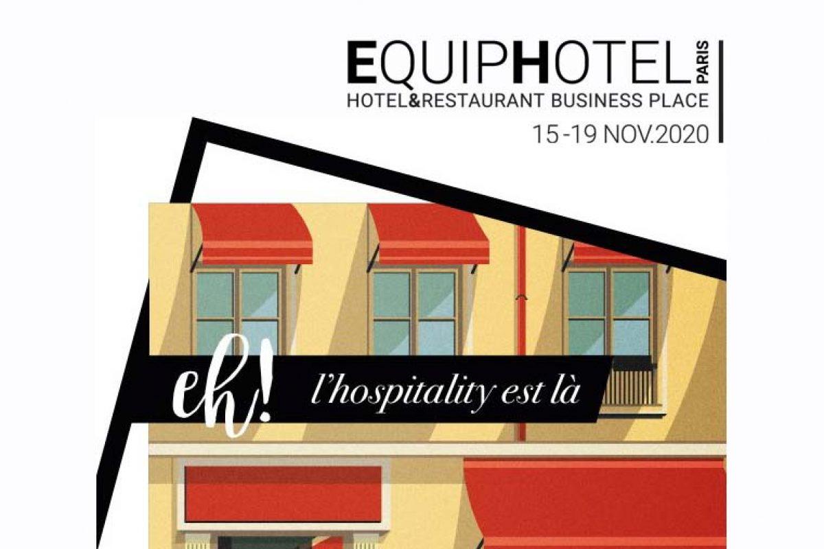 Un nuevo impulso para EquipHotel París 2020: Revisión detallada y visita guiada en primicia
