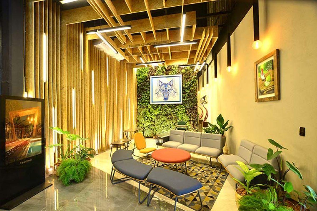 Maqmóveis en CasaCor Paraguay 2019. Un espacio verde, colaborativo, elegante e innovador diseñado por Nde Renda