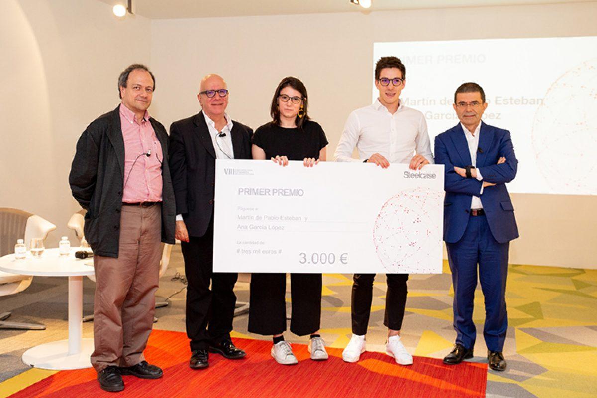 Steelcase anuncia los galardones de su VIII Concurso para Estudiantes de Arquitectura. Espacios de trabajo que fomentan la creatividad