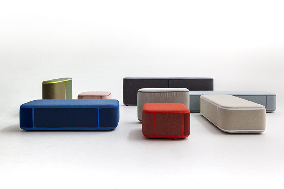 Benjamin Hubert diseña Tape para Moroso. El sistema modular que une moda, tecnología y sostenibilidad