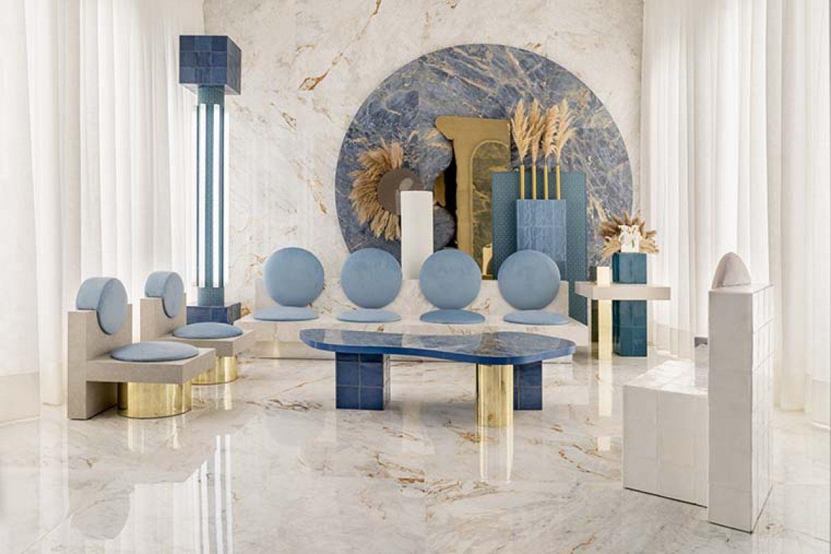 Masquespacio explora los nuevos usos de la cerámica Roca en Casa Decor