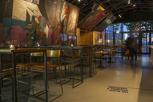 Announced the winners of restaurant bar design