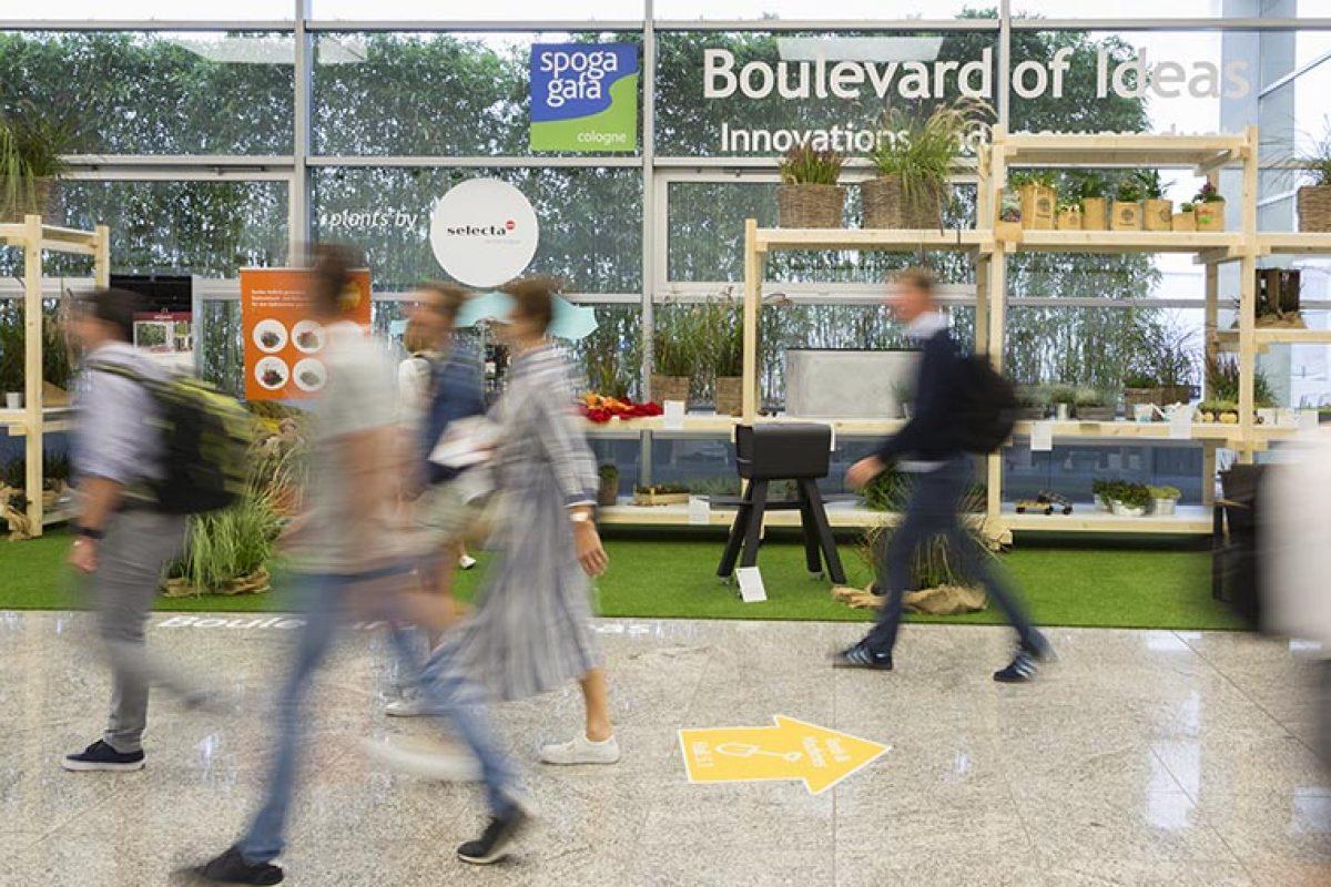 Todavía más estilo de vida relacionado con el jardín, spoga+gafa 2020: verde, de moda y sostenible