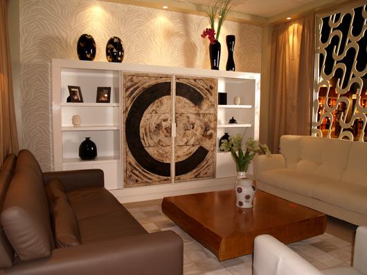 Gran xito de colonial club en feria habitat valencia 2012 - Muebles de diseno en valencia ...