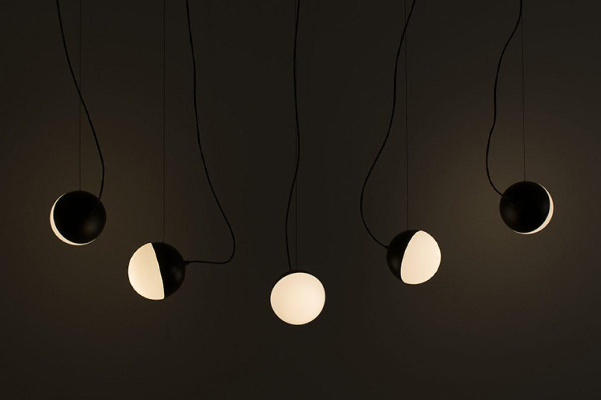 Francesc Rifé diseña la nueva colección de luminarias Half para Milan Iluminación. Una interpretación emocional de la luna