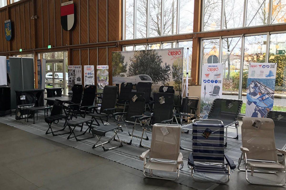 Crespo desembarca en Camping-Profi GmbH en su gira europea para presentar sus novedades 2020 para camping y caravaning