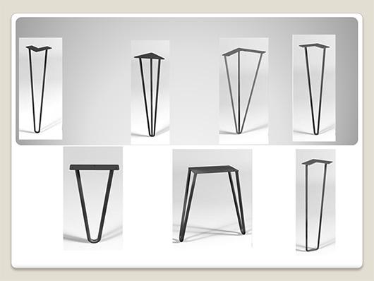 Teyfmon nos presenta la tendencia en patas para mesas - Patas para mesas ...