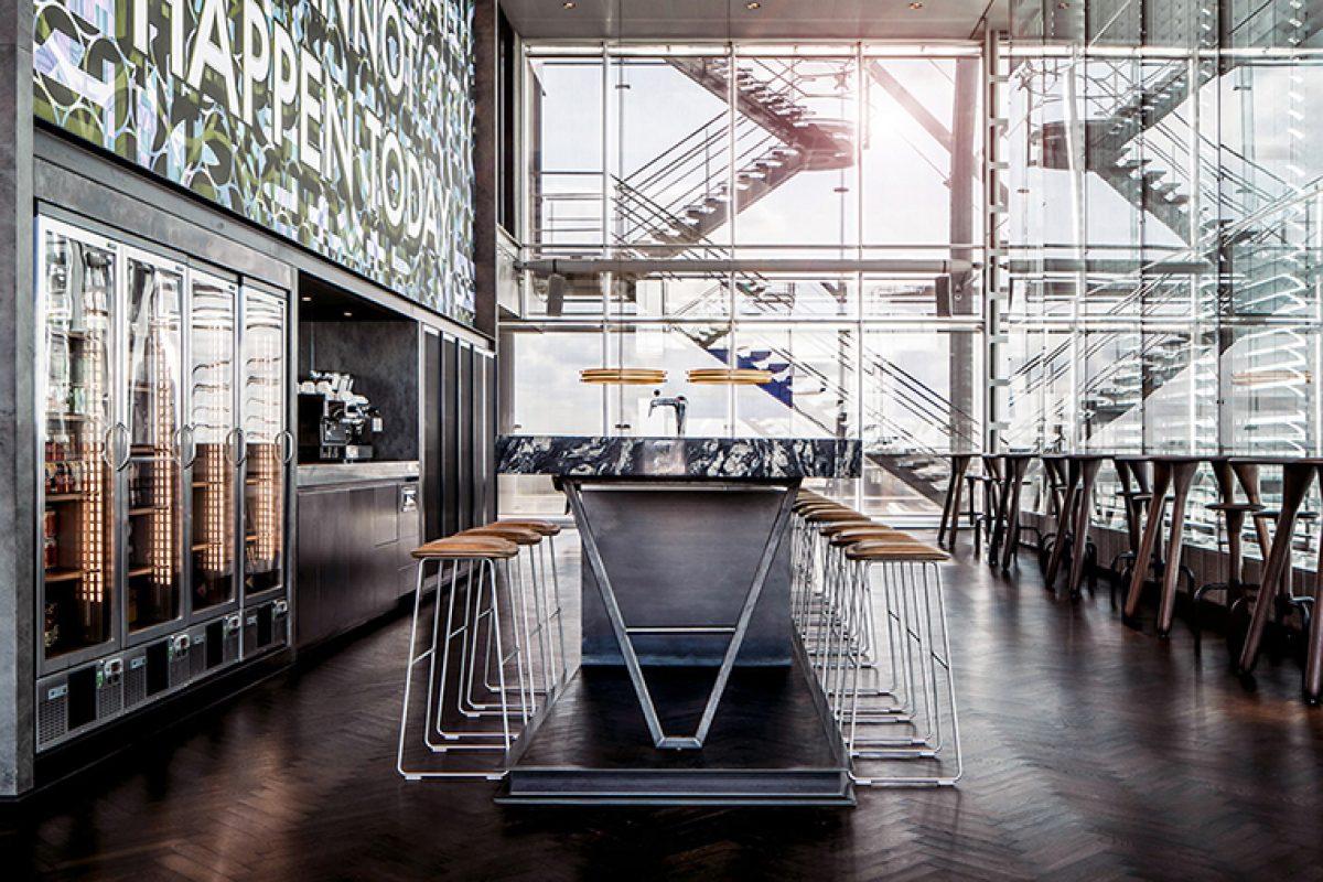Casper Schwarz Architects diseña un nuevo tipo de clásico para unas oficinas del Edificio Infinity de Amsterdam