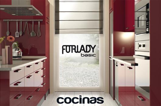 Forlady lanza al mercado el primer cat logo de su linea de for Cocinas forlady