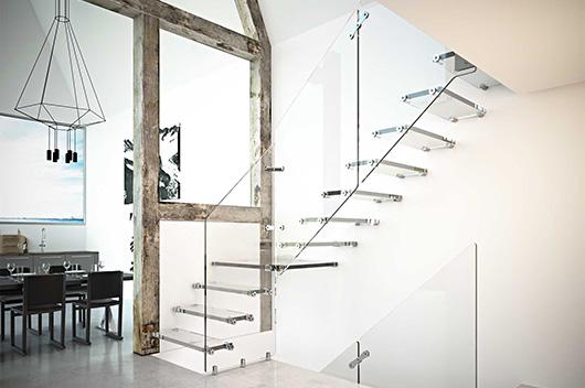 Rintal innova con materiales en las nuevas propuestas de for Escaleras rintal