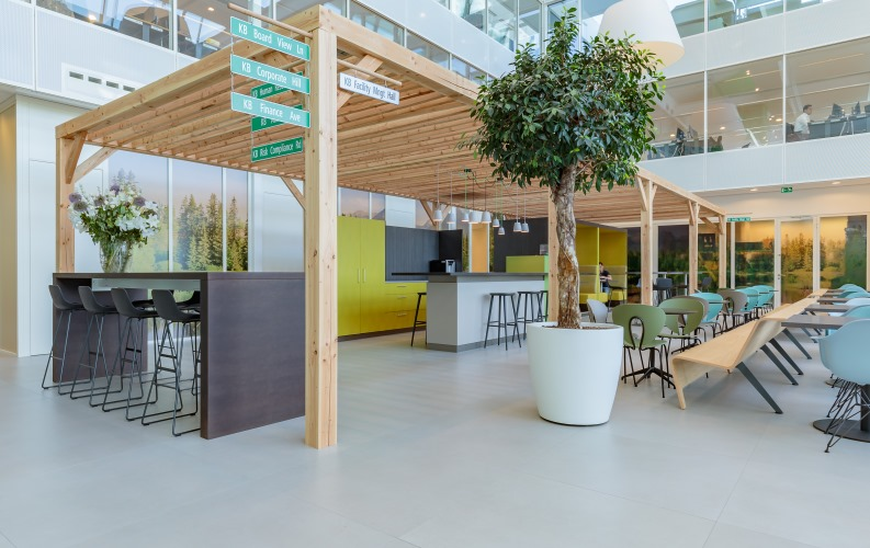 Case Studies Sellex Furnishes The New Offices Of Kas Bank In Amsterdam News Infurma Online Magazine Of The International Habitat Portal Design Contract Interior Design Furniture Lighting And Decoration
