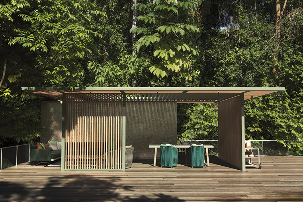 PH1 Pavilion de Kettal studio. Arquitectura mínima para una mayor integración en cualquier entorno