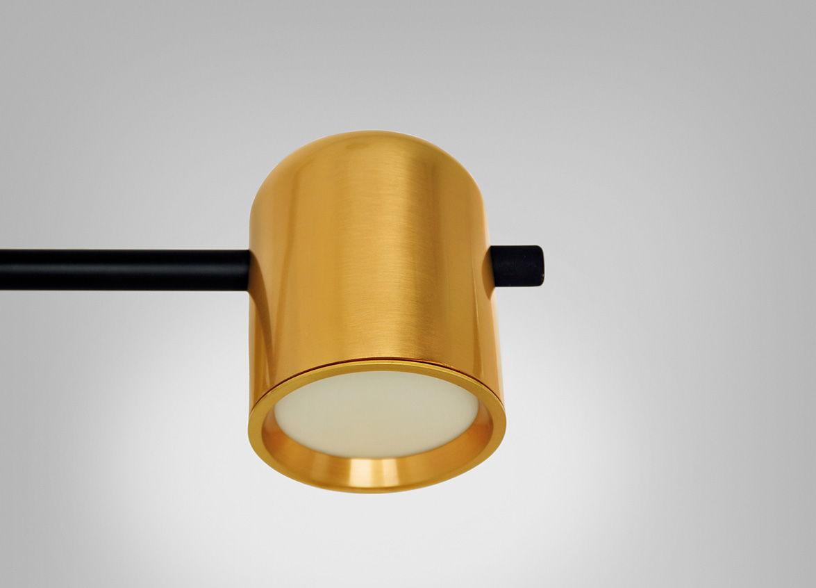Tim Brauns designed KUP for B.lux, a new LED modular lighting system ...