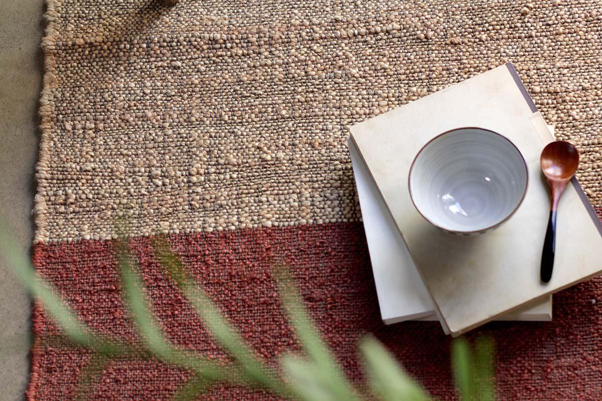 Colección Bamburi, la nueva alfombra en yute de Cumellas