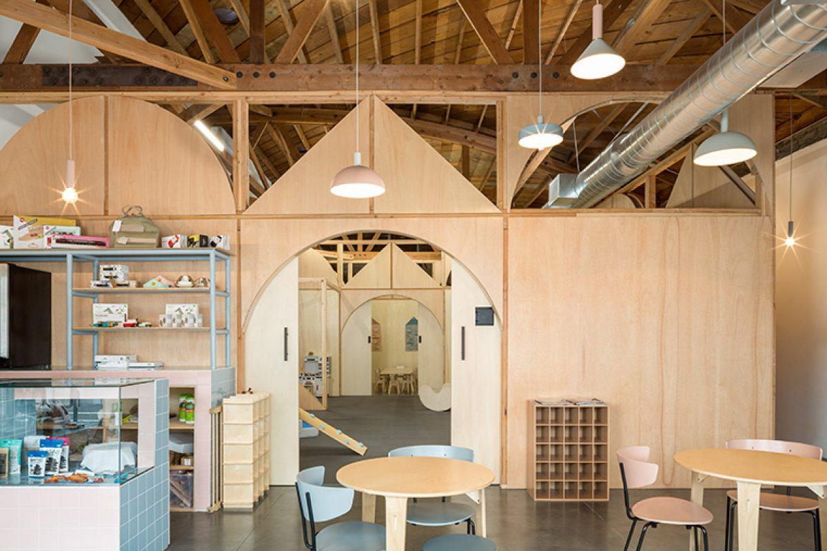 Zooco diseña Big & Tiny en Santa Monica (California). Un espacio para pequeños y mayores