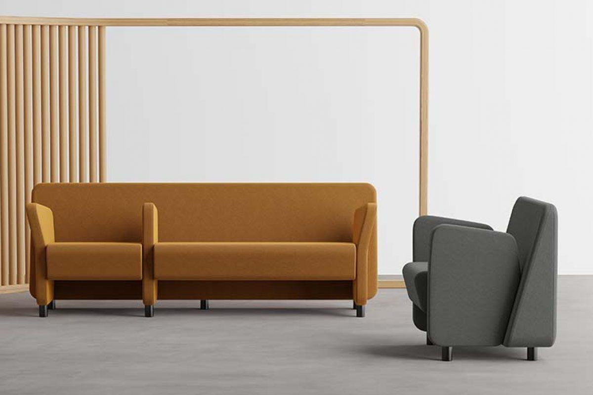 Ximo Roca diseña Wiz para Ofipartes. El sofá modular capaz de adaptarse a las premisas de la nueva normalidad