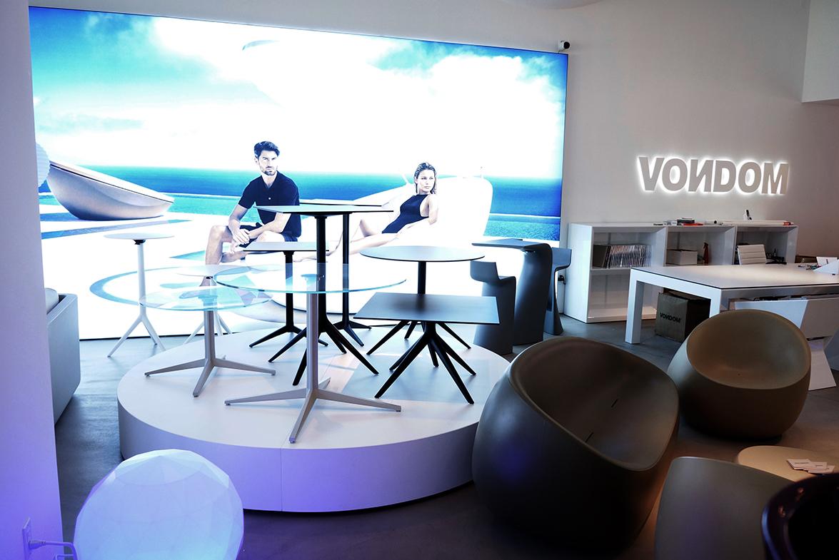 vondom sigue apostando por eeuu y abre nuevo showroom en. Black Bedroom Furniture Sets. Home Design Ideas