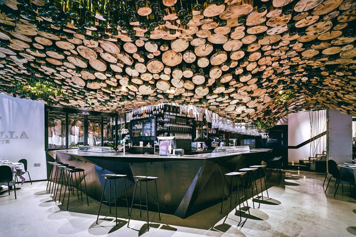 La Pilar Asador, un proyecto de arquitectura interior del estudio Pulpas, finalista en los Restaurant & Bar Design Awards 2018