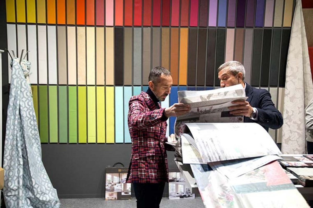 """""""Editores Textiles"""" de Intergift presentará en febrero las nuevas tendencias en diseño textil, papeles pintados y revestimientos murales"""