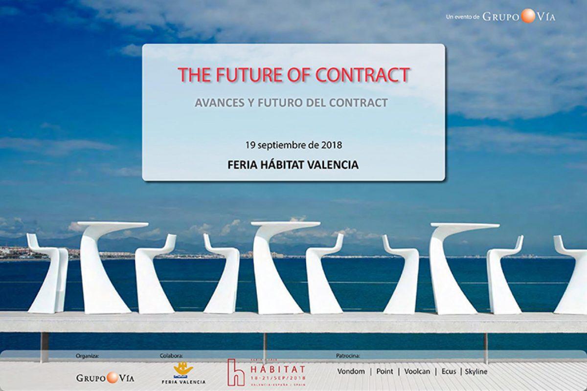 Expertos debatirán sobre el futuro del contract durante Feria Habitat Valencia 2018