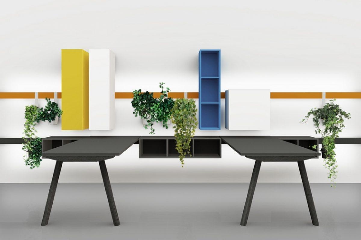 Anticipo Milan Design Week 2018: DVO presenta sus novedades diseñadas por Enzo Berti. Productos de diseño funcionales y versátiles para espacios de trabajo