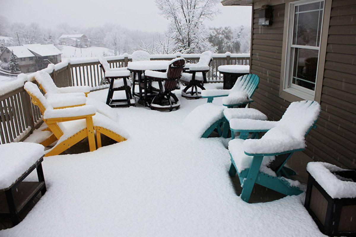 Claves para preparar para el invierno sus muebles de jardín