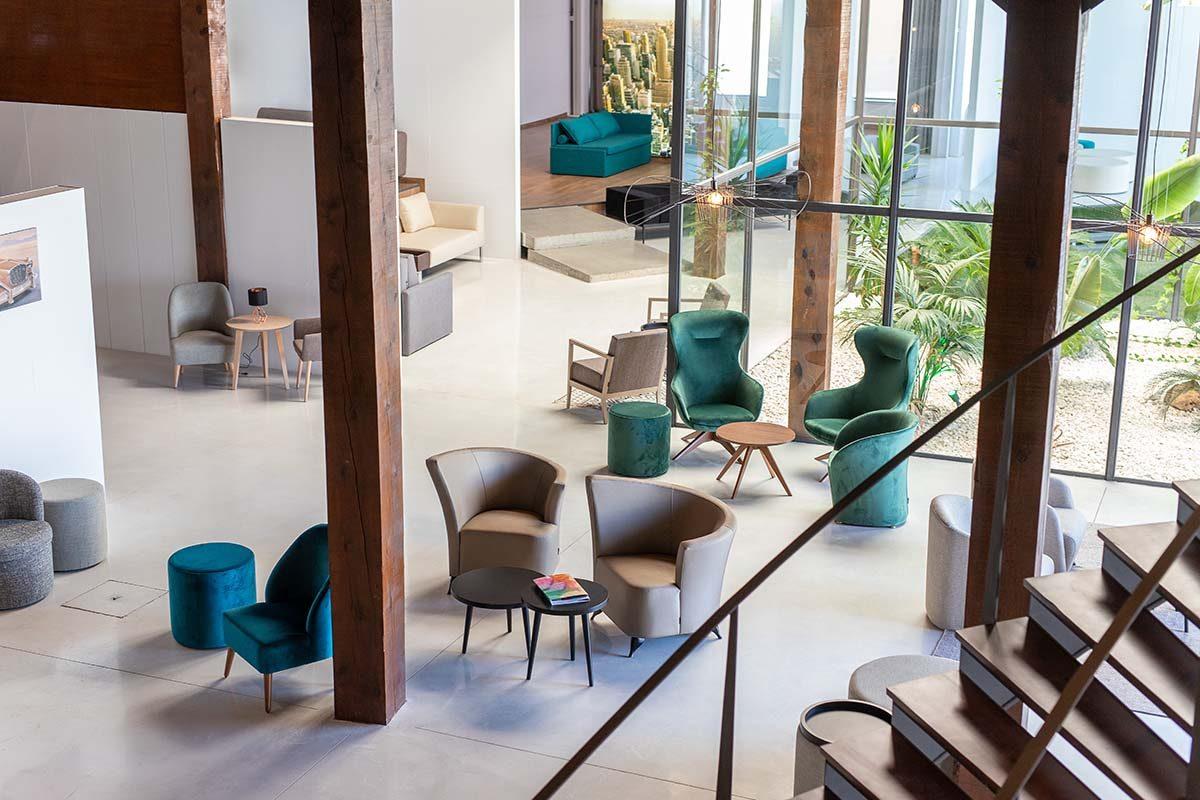 La fábrica de muebles para hoteles TM Leader Contract nos descubre su nuevo showroom