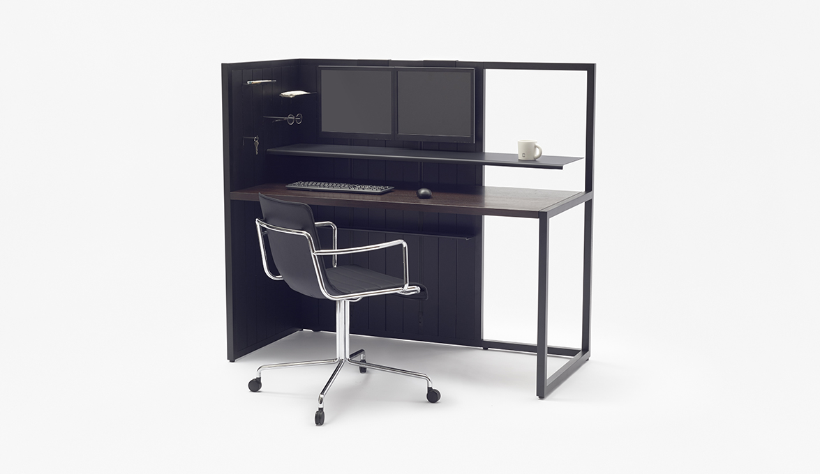 Nendo creates a functional desk designed for Yusei Matsui, a ...