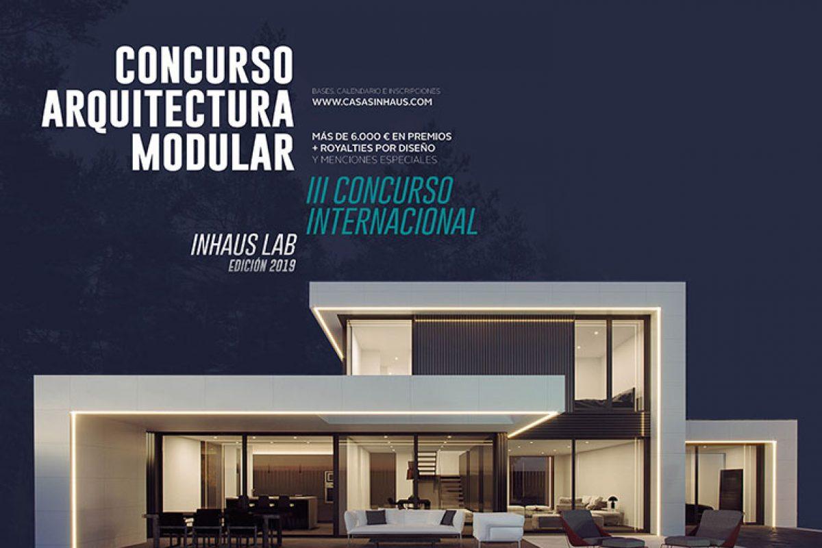 Anunciados los ganadores del III Concurso Internacional inHAUS Lab «Diseña tu casa modular»
