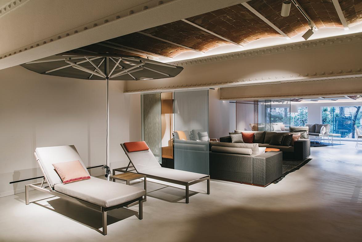 studio urquiola redisea el showroom de kettal en barcelona el templo del outdoor mediterrneo