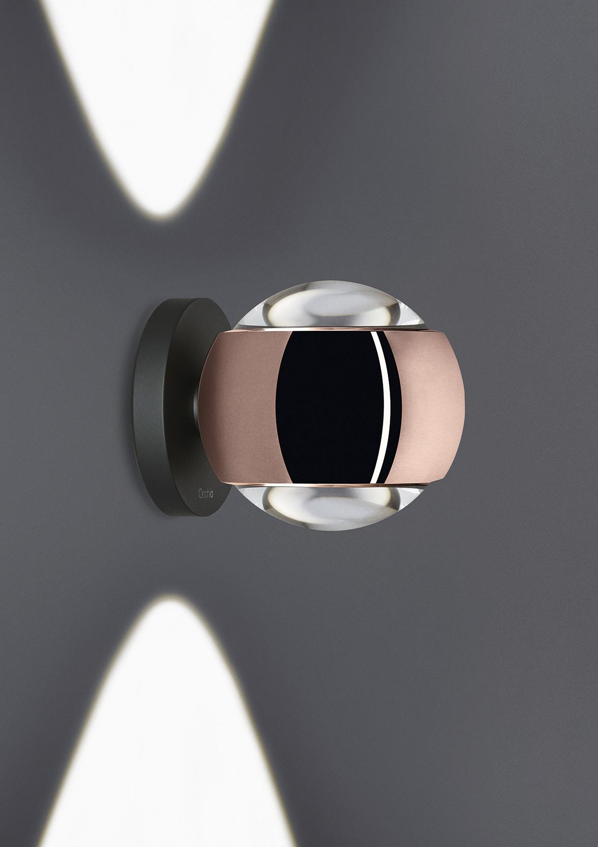 aplique io verticale de occhio elegante compacta y. Black Bedroom Furniture Sets. Home Design Ideas