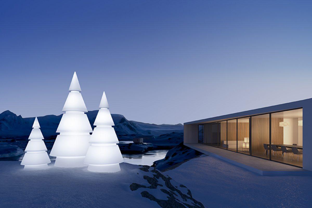 Ramón Esteve diseña Forest para Vondom, la visión arquitectónica del tradicional abeto de navidad