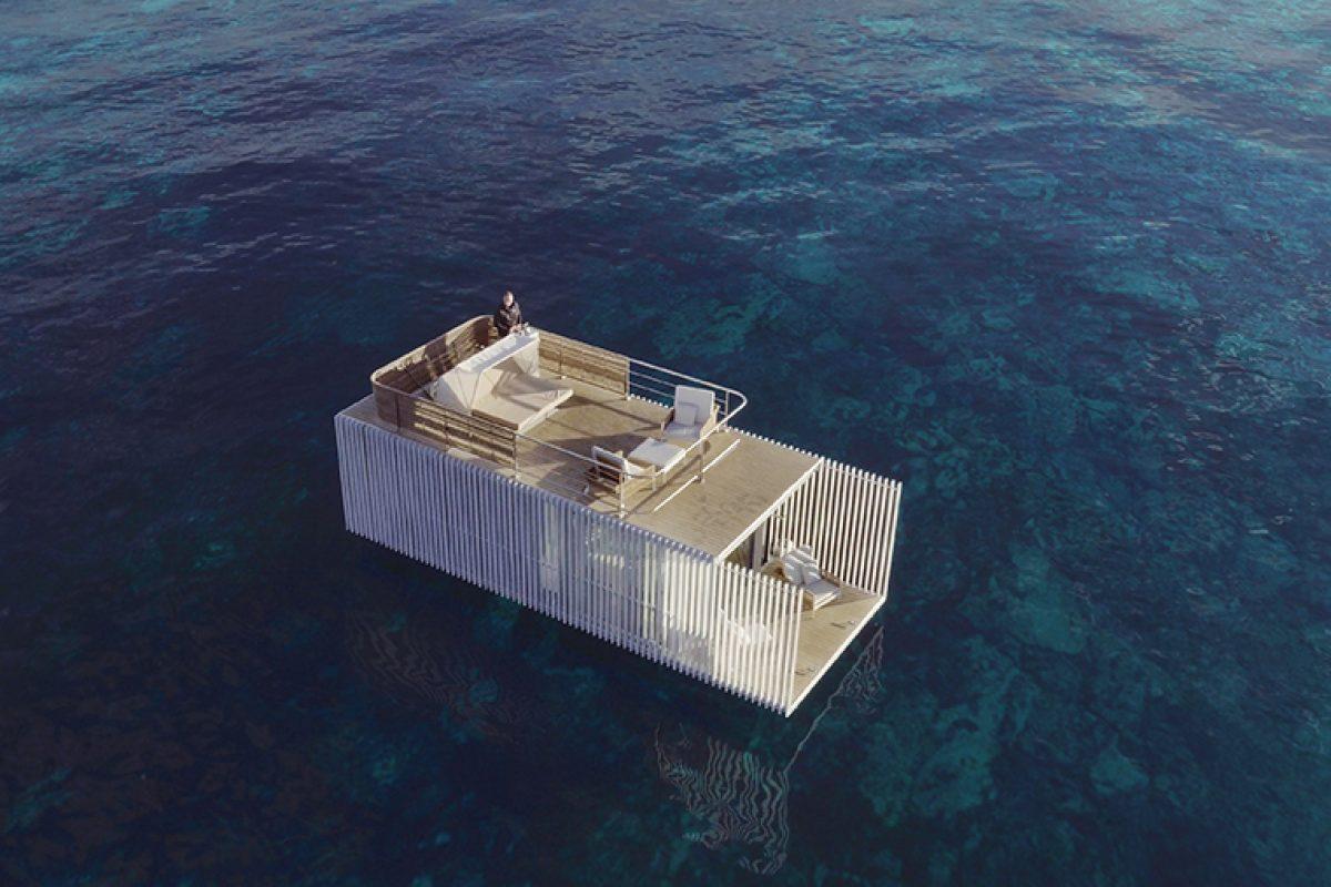 Punta de Mar, el primer alojamiento flotante de Mano de Santo y KMZero que lleva a otro nivel el concepto de turismo experiencial