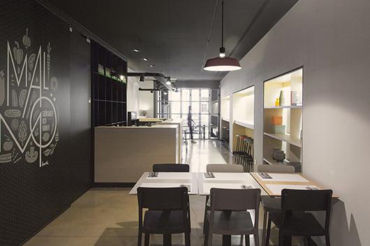 Restaurante Malmö, Valencia. Diseño Borja Garcia Studio