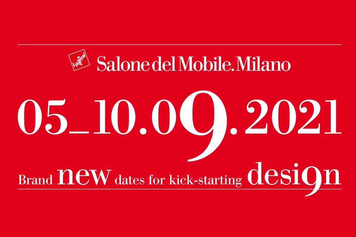 Salone del Mobile.Milano 2021 se celebrará en septiembre
