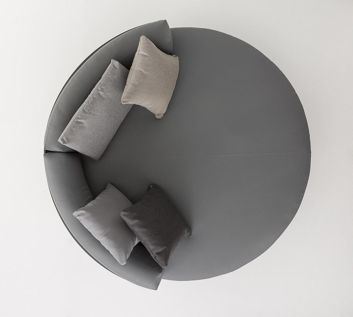 cama Chill redonda Flat cenital