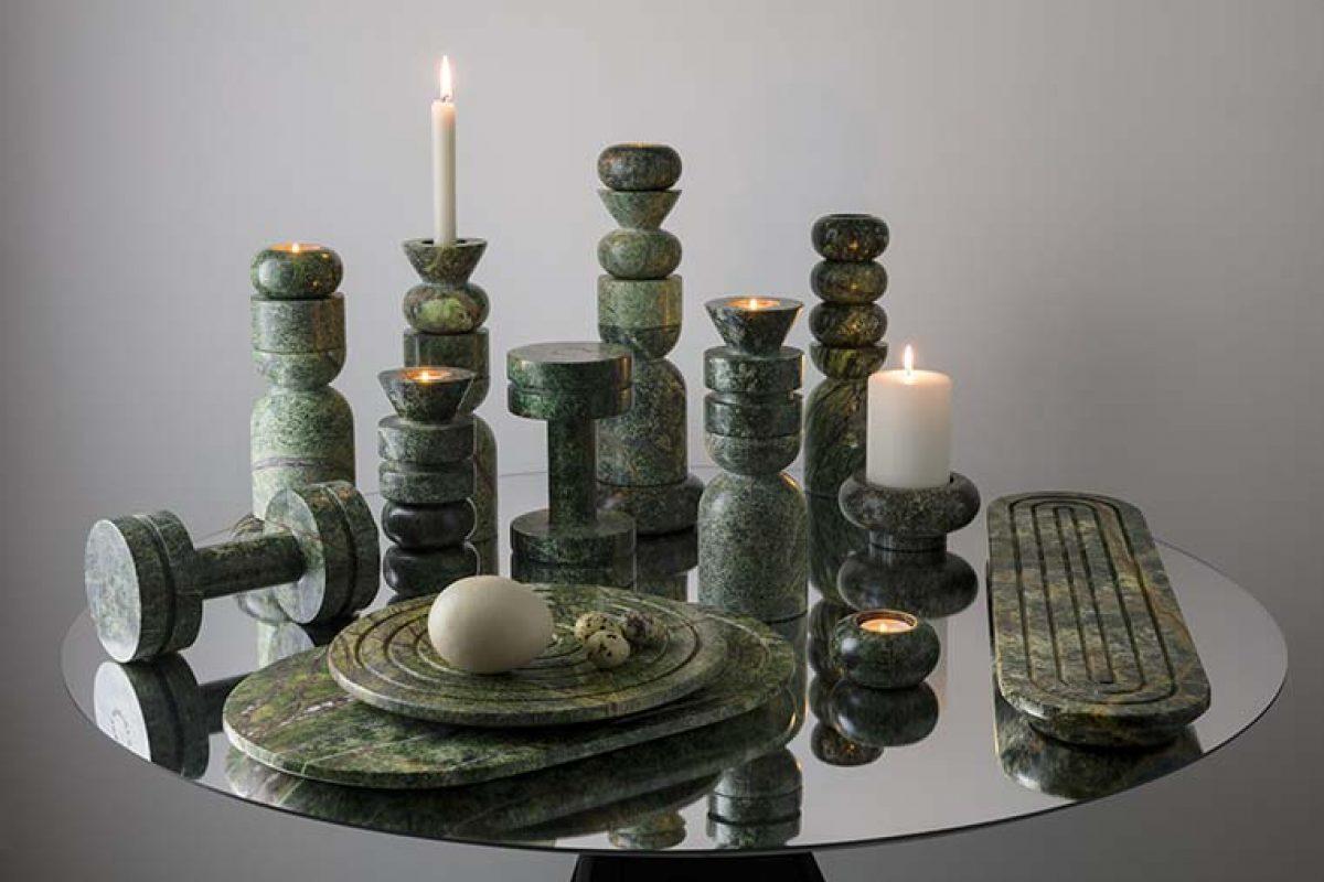Rock de Tom Dixon. Pesados, esculturales y funcionales artefactos