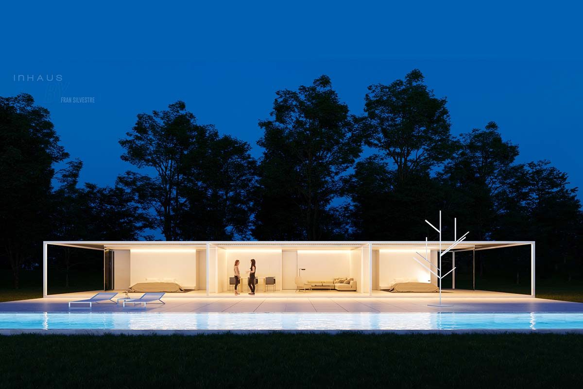 La vivienda industrializada diseñada por Fran Silvestre Arquitectos para inHAUS