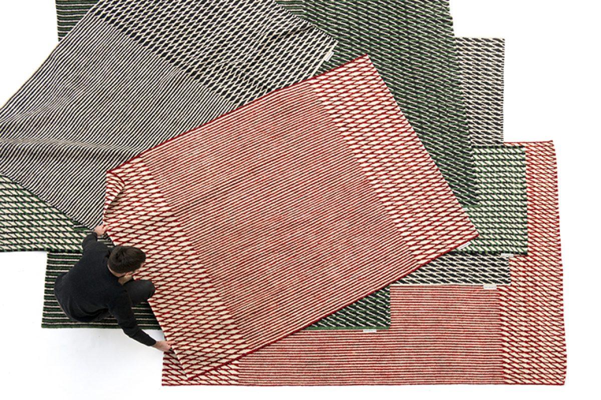 Ronan & Erwan Bouroullec diseñan la colección Blur para nanimarquina. Una alfombra con dos lecturas
