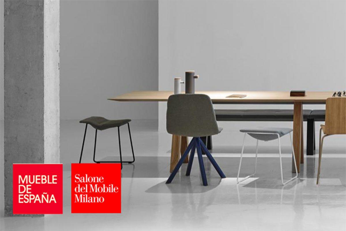 58 empresas españolas del mueble aterrizan en el Salone del Mobile.Milano 2018 coordinadas por Anieme