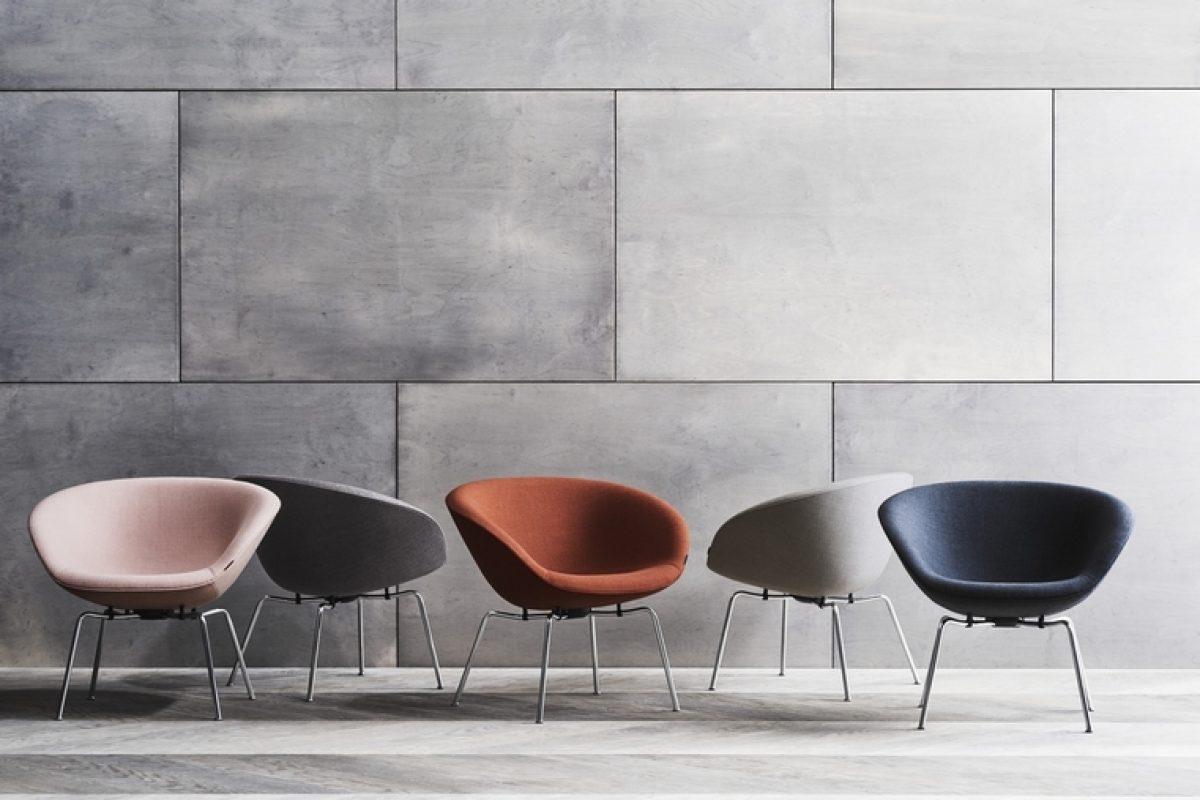 Fritz Hansen resucita la icónica silla Pot, diseñada por Arne Jacobsen en 1960